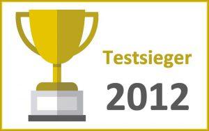 Reiserücktrittsversicherung Testsieger 2012